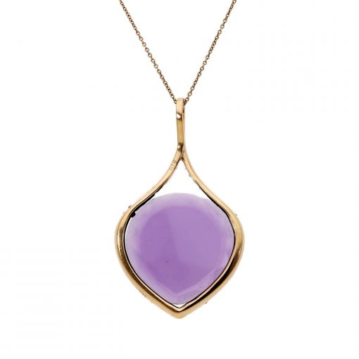 Amethyst NecklaceStyle #: ANC-AN-4276
