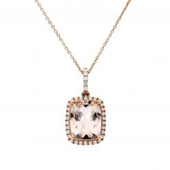 Morganite NecklaceStyle #: ANC-NV1014