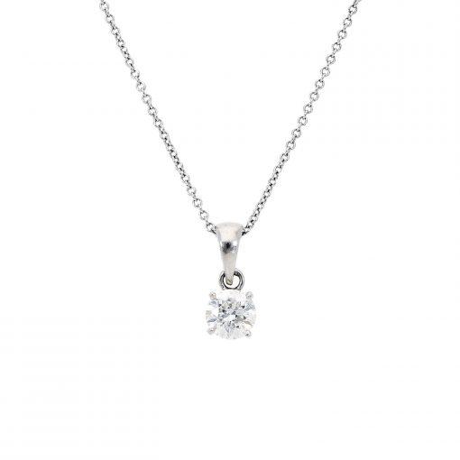 Diamond NecklaceStyle #: MARS-16654