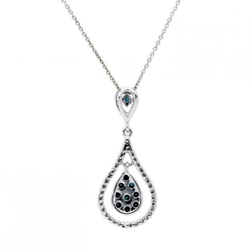 Blue Diamond NecklaceStyle #: ANC-AA751