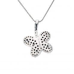 Black Diamond NecklaceStyle #: ANC-B378C