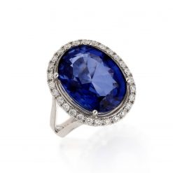 Sapphire Ring<br>Style #: JW-RING-HM-012