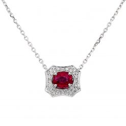 Ruby NecklaceStyle #: PD-JLQ122N