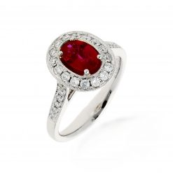 Ruby Ring<br>Style #: PD-LQ142L