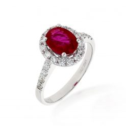 Ruby Ring<br>Style #: PD-LQ15824L