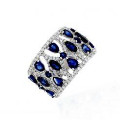 Sapphire Ring<br>Style #: PD-LQ17458L