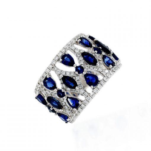 Sapphire RingStyle #: PD-LQ17458L