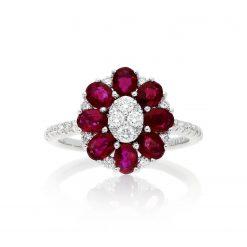 Ruby Ring<br>Style #: PD-LQ17582L