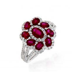 Ruby Ring<br>Style #: PD-LQ17636L