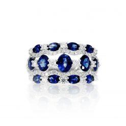 Sapphire Ring<br>Style #: PD-LQ19862L