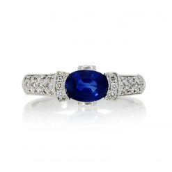 Sapphire Ring<br>Style #: PD-LQ6691L