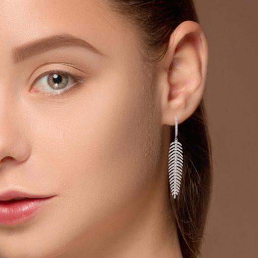 Diamond EarringsStyle #: PD-LQ8324E