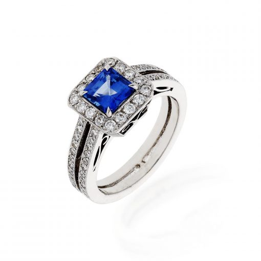 Sapphire RingStyle #: PSAF-011