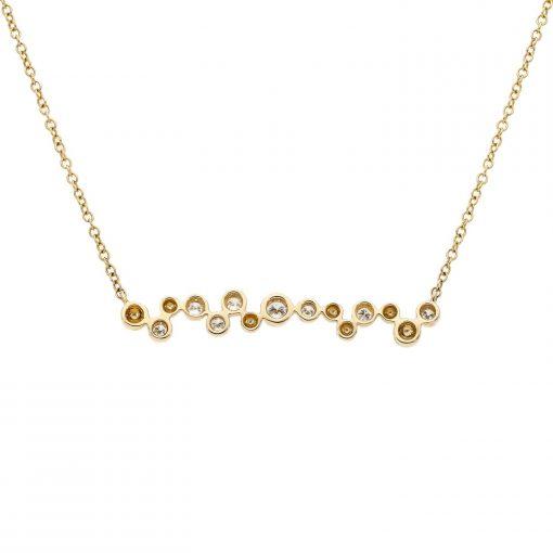 Diamond NecklaceStyle #: iMARS-27117