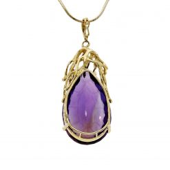 Amethyst NecklaceStyle #: MH-PEND-AM-001