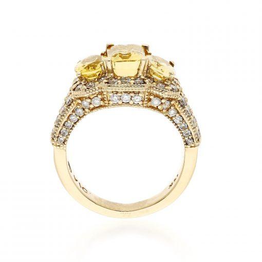 Yellow Beryl RingStyle #: MH-RING-YELLOW-BERYL