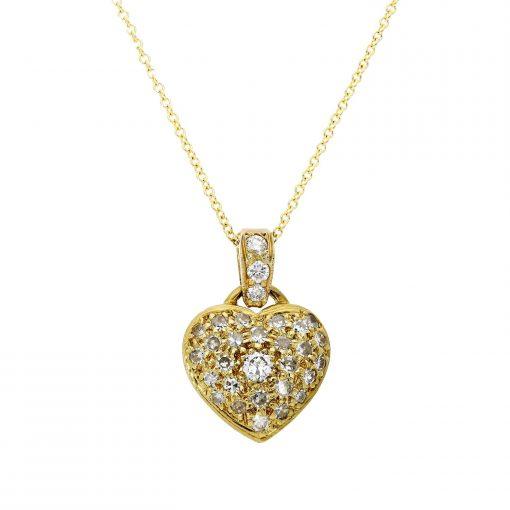 Diamond NecklaceStyle #: MH-PEN-20001