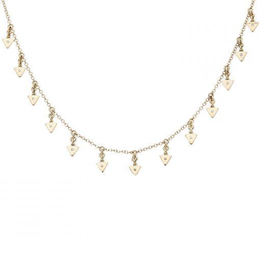 Diamond NecklaceStyle #: MK-853482