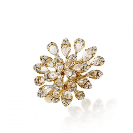 Rose Cut Diamond RingStyle #: PD-LQ21399L