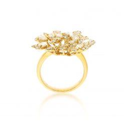 Rose Cut Diamond Ring<br>Style #: PD-LQ21399L