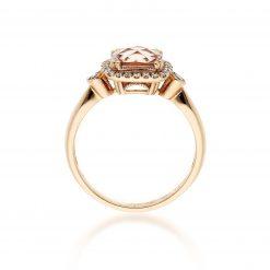 Morganite Ring<br>Style #: ANC-NV976