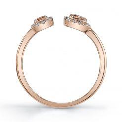 Morganite Ring<br>Style #: iMARS-26912
