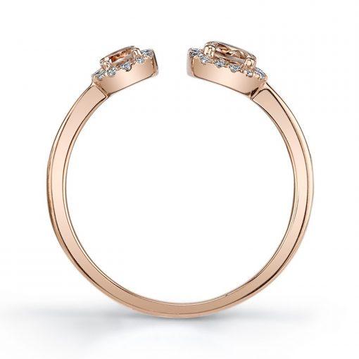 Morganite RingStyle #: iMARS-26912