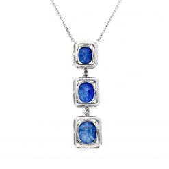 Sapphire Necklace<br>Style #: JW-PEND-SP-001