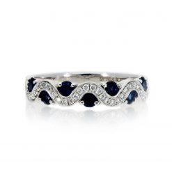 Sapphire Ring<br>Style #: MARS-26117
