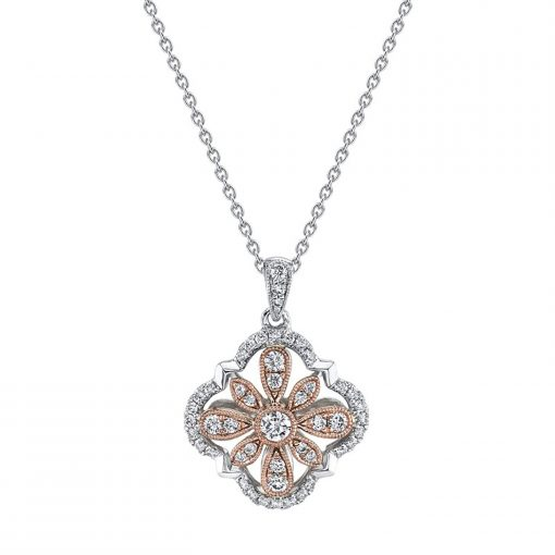 Diamond NecklaceStyle #: iMARS-26862