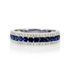 Sapphire Ring<br>Style #: PD-LQ21460L