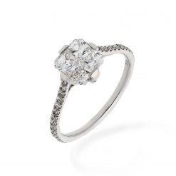 Diamond Ring<br>Style #: Quad-01