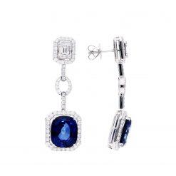Sapphire EarringsStyle #: JW-EAR-SP-007
