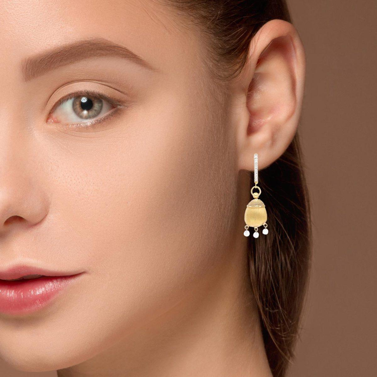 Diamond EarringsStyle #: RIU-31659