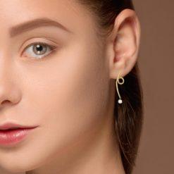 Diamond Earrings<br>Style #: RIU-36292