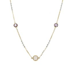 Gemstones NecklaceStyle #: WLI-J13398FJN