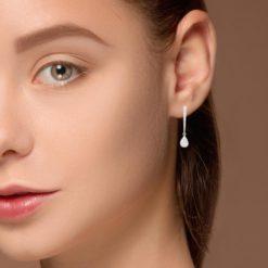 Diamond Earrings<br>Style #: MK-845300