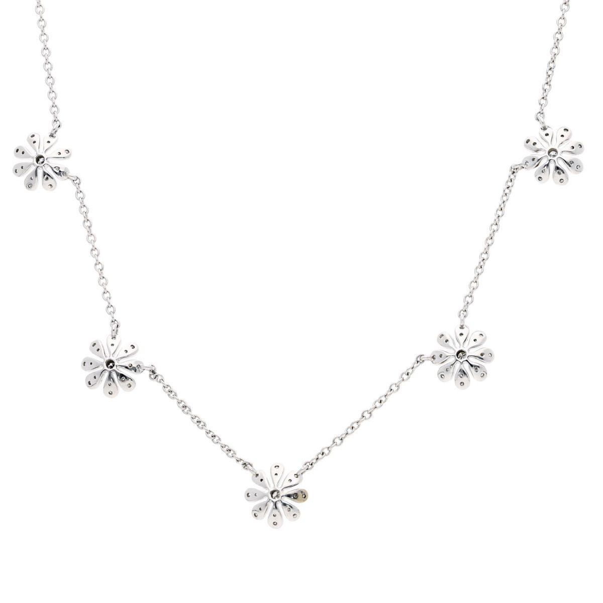 Diamond NecklaceStyle #: ROY-WC8037D