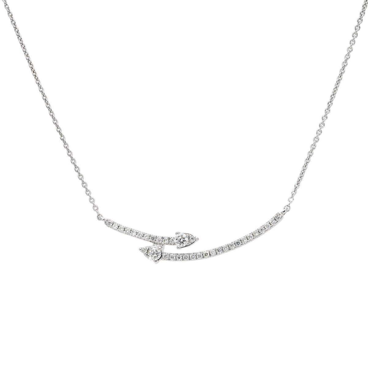 Diamond NecklaceStyle #: ROY-WC9739D