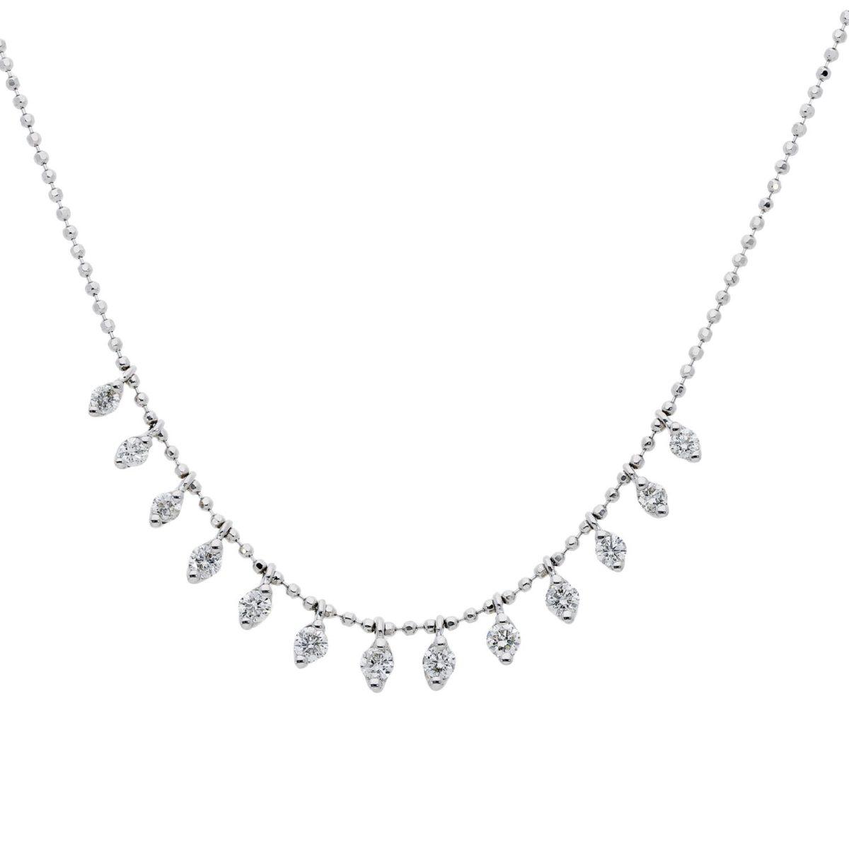 Diamond NecklaceStyle #: ROY-WP8894D