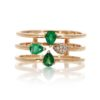 Emerald Ring<br>Style #: ROY-PC7782E