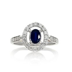 Sapphire Ring<br>Style #: ROY-WC3563S