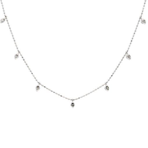 Diamond NecklaceStyle #: ROY-WC6466D