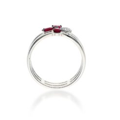 Ruby Ring<br>Style #: ROY-WC7782R