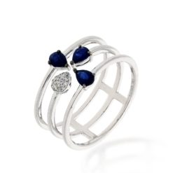 Sapphire Ring<br>Style #: ROY-WC7782S