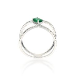 Emerald Ring<br>Style #: ROY-WC8099E