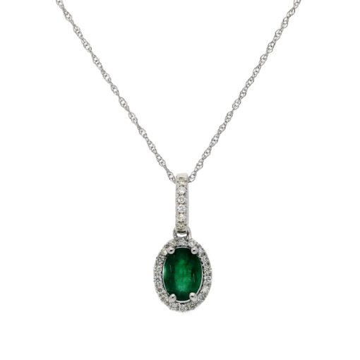 Emerald NecklaceStyle #: ROY-WC8644E