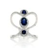 Sapphire Ring<br>Style #: ROY-WC8995S