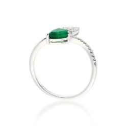 Emerald  Ring<br>Style #: ROY-WC9419E