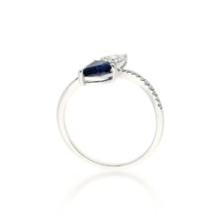 Sapphire Ring<br>Style #: ROY-WC9419S